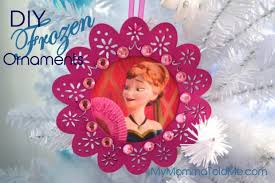 easy diy frozen christmas ornaments u0026 tree topper hello nutritarian