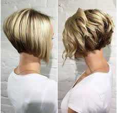stacked wedge haircut pictures best 20 curly stacked bobs ideas on pinterest throughout wedge