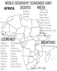 world geography scavenger hunt europe free printable