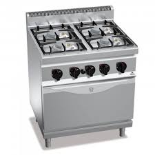 fourneaux de cuisine fourneau 4 feux gaz avec four cuisine d pro
