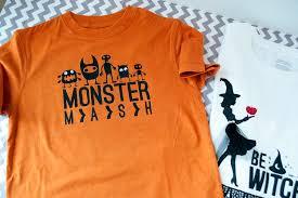 make your own halloween t shirts the polka dot chair