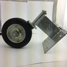 kodiak kgw100 u2013 swing gate wheel for wood gates u2013 swivel wood