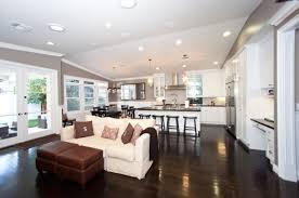 Kitchen Sitting Room Ideas Open Kitchen Living Room Designs Home Decoration Ideas
