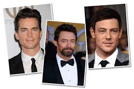 men with red fingernails and curlers in hair 12 makeup and hair secrets for hollywood men beauty blitz