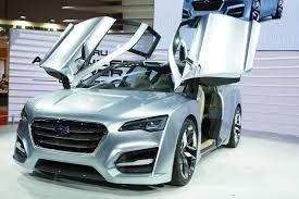 subaru concept truck subaru advanced tourer concept hints at standalone hybrid wagon