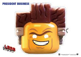 Free Printable Halloween Cutouts by The Lego Movie Character Mask Cut Outs Groove Bricks