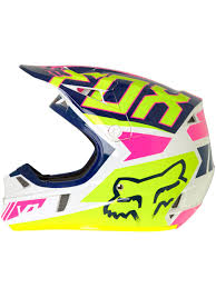 motocross fox helmets fox navy white 2017 v1 falcon kids mx helmet fox