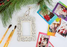 crafting photo ornaments happily after