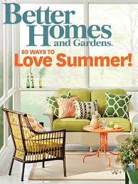 interior home magazine better homes and gardens magazine