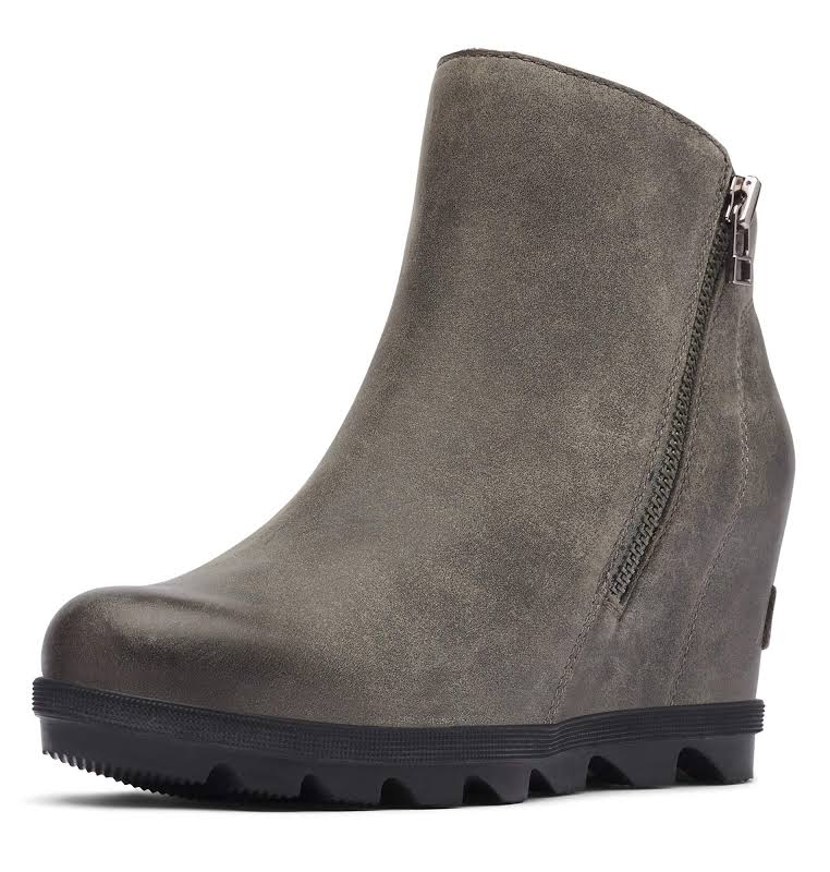 Sorel Joan of Arctic Wedge II Zip Boot Quarry