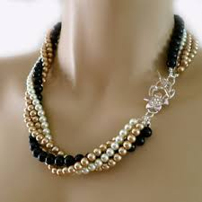 pearl necklace costume images Black pearl necklace costume wedding from pearljewelrynecklace jpg