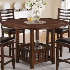 Drop Leaf Pub Table Theodora Mission Drop Leaf Counter Height Table With Faux Marble