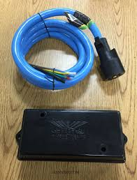 7 way trailer wiring repair kit includes 6 foot 7 way cold