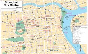 Plano Map Shanghai Tourist Map Shanghai U2022 Mappery