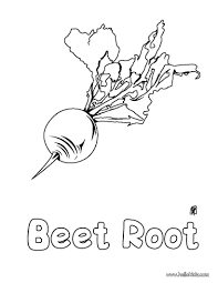 beet root coloring pages hellokids com