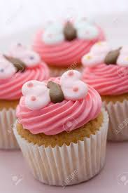butterfly cupcakes stock photo picture and royalty free image