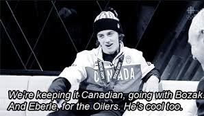 Sochi Meme - jordan eberle edmonton oilers olympics team canada sochi 2014 mark