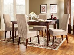 enchanting dining room chair slipcovers with arms gallery best