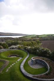landscape designer visit spirals in stone on the cornish coast by