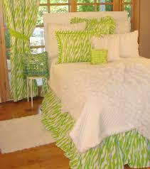 tween teen bedding lime green zebra bedding collection teen