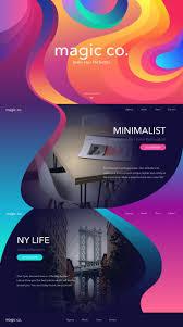 206 best web design images on pinterest website designs