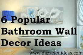 bathroom walls decorating ideas pictures for bathroom wall decor dway me