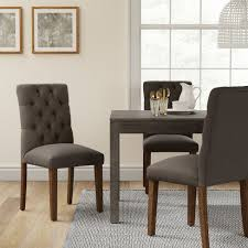 Brookline Tufted Dining Chair Brookline Tufted Dining Chair Gray Ships Flat Threshold