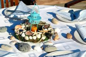 coastal centerpieces sea inspired table setting and ideas for your themed party