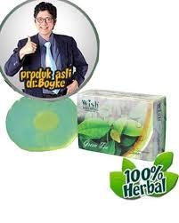 Sabun Wish green tea soap produk wish dr boyke sabun teh hijau asli dari