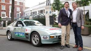porsche 944 rally car a different kind of rally