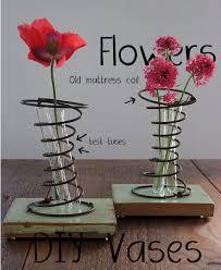 Diy Vase Decor Recycle Your Mattress Diy Vase