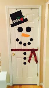 snowman door pinteres