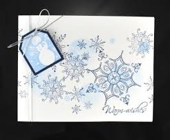 snowflake card lights card and decore