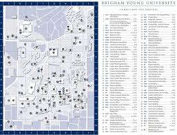 University Of Utah Campus Map by Brigham Young University Maplets