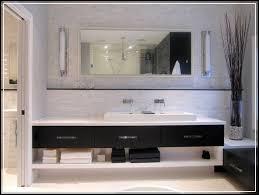 large bathroom mirrors ideas floating bathroom vanity with large bathroom mirror ideas