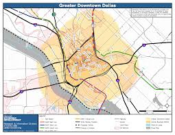 Dart Map Dallas by Maps City Of Dallas Office Of Economic Development