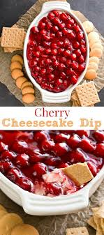 cherry cheesecake dip thanksgiving food list 15 creative food