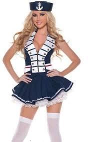 Sailors Halloween Costumes Wholesale Cosplay Game Clothing Marine Sailor Costume