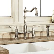 Bridge Kitchen Faucets D35402250355 In Ultra Steel By Dxv In New York City Ny