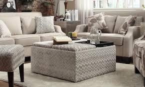 Narrow Storage Ottoman Furniture Fabric Coffee Table With Storage Purple Storage