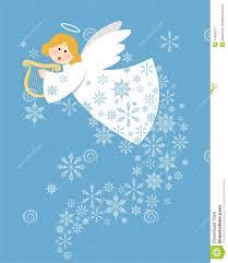christmas angel christmas angel stock vector illustration of snow christmas 17495073