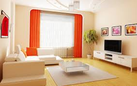 Bright Orange Curtains 10 Bright Living Room In Orange Home Interior Design Kitchen