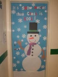 Remarkable Winter Classroom Door Decorations with Modren Winter