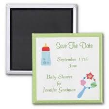 save the date baby shower baby giraffe green save the date baby shower refrigerator