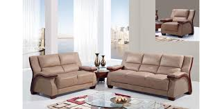 Montana Sofa Bed Ii Ua1411 Modern Sofa Set Of 3pc Montana Buckskin