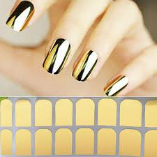 metallic nail foil wraps aliexpress buy cool silver gold metallic wraps foils
