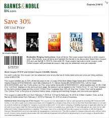 Barns And Noble Promo Code Barnes And Noble Promo Code Osu Printable Coupons Barnes And Noble