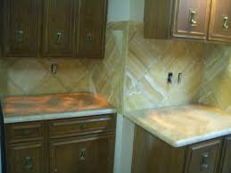 Tile Kitchen Countertop Ideas Wonderful Subway Tile Kitchen Backsplash Setting A Subway Tile