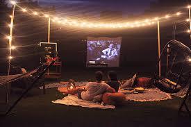 Backyard Movie Night Projector Backyard Movie Night In Honor Of Design