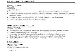 resume exles housekeeping resume templates cook housekeeper exles useful housekeeping